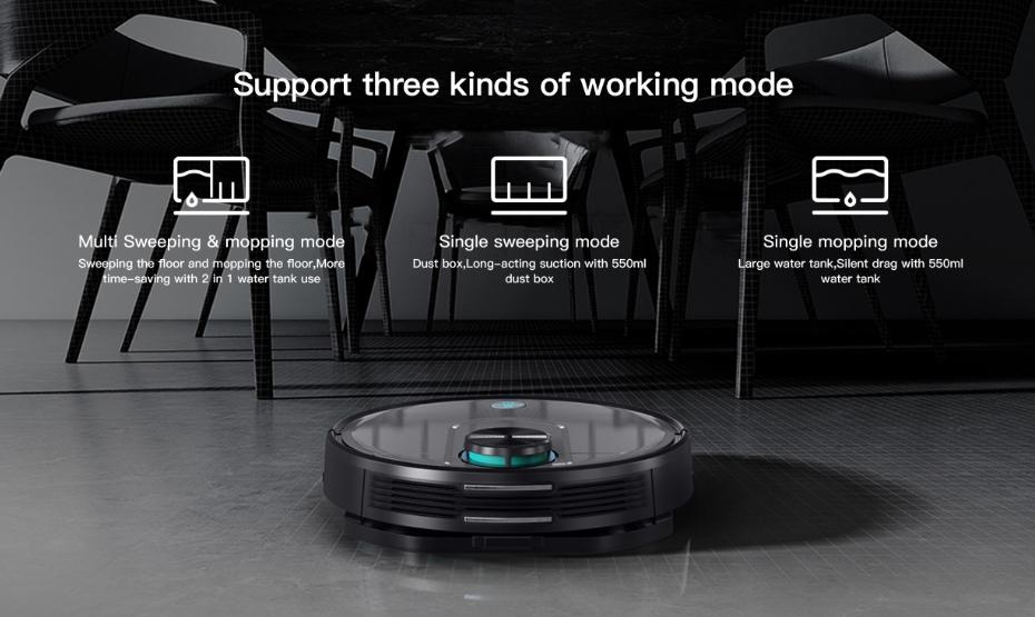 Viomi V2 Pro Modes